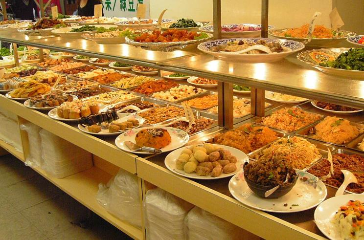 Don't eat at a buffet if you're not that hungry